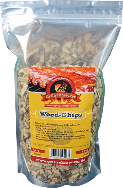 GRILLSCHMECKER Wood-Chips -Hickory-