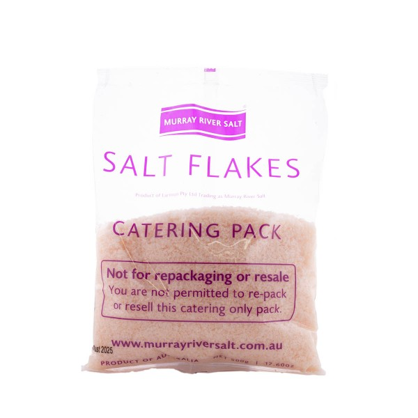 Murray River Salt Flakes 500g Catering Pack