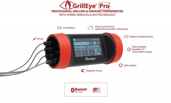 GrillEye Pro+ Thermometer