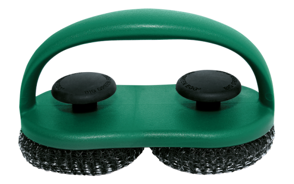 BIG GREEN EGG Duo Grillrost-Schrubber